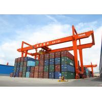 Wholesale 32 Ton Rmg Portal Gantry Crane Rail Mounted Container Double Girder Gantry Crane from china suppliers