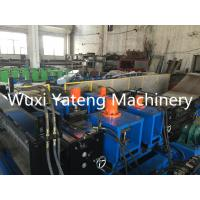 Wholesale 22KW Main Motor Cable Tray Roll Forming Machine PLC Control Hydraulic Cuting And Punching from china suppliers
