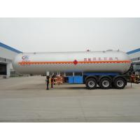 Wholesale China best 3 axles 56,000L LPG  gas tanker semitrailer for propane for sale, BPW axles gas cooking propane tank trailer from china suppliers