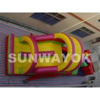 Wholesale Outside Safety Commercial Inflatable Obstacle Course With Durable PVC from china suppliers