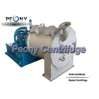 Wholesale Model PP Sulzer Double Stage Salt Centrifuge For Citric Acid Dewatering from china suppliers