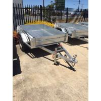 Wholesale Hot Dipped Galvanised 8x5 Single Axle Trailer 750kg Capacity from china suppliers
