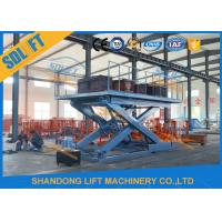 Wholesale Portable Scissor Car Lift Hydraulic Scissor Car Platform Lift Stationary Scissor Elevator from china suppliers