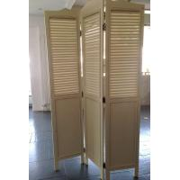 Wholesale Foldable 3 Panels Wooden Decorative Screens Room Divider Partition Wall from china suppliers