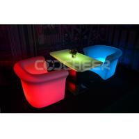 Wholesale Illuminated Tea Table Glowing Outdoor Furniture High End Square Shape from china suppliers