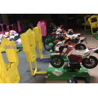 Wholesale Happy Motor Racing Game Machine Motor Kiddie Rides High Simulator Apperance from china suppliers