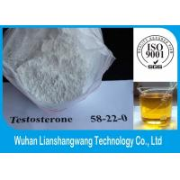 Wholesale 99% GMP Testosterone Base Muscle Building Hormones CAS 58-22-0 White Powder from china suppliers
