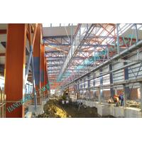 Buy cheap H Column Metal Frame Type Prefabricated Steel Building For Industrial Use from wholesalers