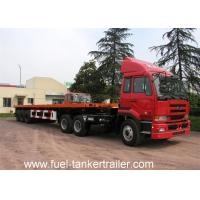 Wholesale Shengrun flatbed truck trailers , 3 axles 40 foot flatbed trailer truck from china suppliers