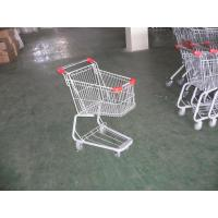 Wholesale Children Grocery Shopping cart 45L With color powder coating and colored plastic parts from china suppliers