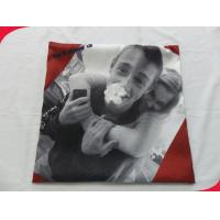 Wholesale Square Printed 100% polyester Cotton Pillow Covers / Couch Cushion Covers from china suppliers