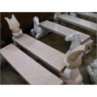 Wholesale Animal Status, Cat Carving Stone Bench, Granite Stone Sculpture from china suppliers