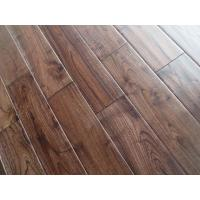 Wholesale brushed & handscraped asian teak solid hardwood floors, stained color from china suppliers
