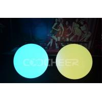Wholesale Wax Ball Outdoor Round Shape Led Ball light eco - friendly , recyclable from china suppliers