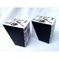 Quality Cardboard Packing Gift Boxes For Watch , Cardboard Storage Boxes Black And White Color for sale