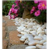Wholesale 30-50mm Natural Pebble Stone,White Stone Pebble,Hot White Snow Pebble,Pebble Stone from china suppliers