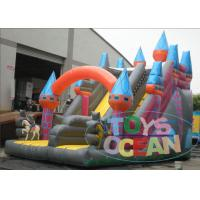 Wholesale Giant 0.55mm PVC Viyle Double Inflatable Slides For Amusement Park from china suppliers