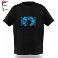 Buy cheap Equalizer T-shirt,Light Up LED T-shirt, Music T-shirt from wholesalers