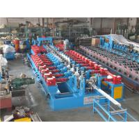 Wholesale Cr12 C Purlin Roll Forming Machine , Corrugated Iron Sheet Making Machine 550mm Coil Width from china suppliers