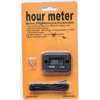 Buy cheap LCD display small engine inductive waterproof Motocross hour meter for snowmobil / ATV from wholesalers
