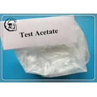 Wholesale Test Acetate Testosterone Steroid Muscle Gains and Strengthening White Powder from china suppliers