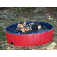 Wholesale Pvc Portable Pet Bath Tub Inflatable , Dog Bathing Tub from china suppliers
