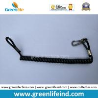 Wholesale Wire-reinfored Pistol Lanyard for Duty/Basic Belt Loop w/Delux Swivel on One End from china suppliers