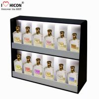 Buy cheap Lighting Makeup Display Stands Acrylic , Perfume Cosmetic Display Units Countertop from wholesalers