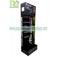 Quality Customized Cosmetic Cardboard Display Stand With Hooks For BB And CC Cream for sale