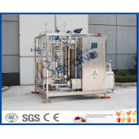 Wholesale Uht Milk Products Milk Pasteurizer Machine / Htst Pasteurizer Milk Pasteurization Plant from china suppliers