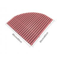 Quality Anti-slip Wpc Decking Board Composite Deck Boards Embossing Bashroom Wood Mat for sale