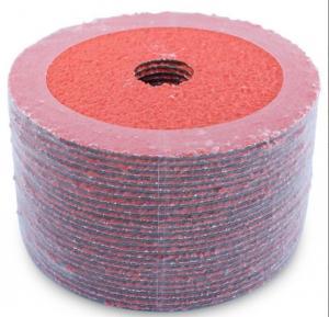 China 4-1/2 x 7/8 Ceramic Resin Fiber Sanding Discs,PSA Discs,Semi-Flexible Discs,Mexico,Brasil,China on sale