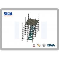 Wholesale Q235 Steel Ringlock Mobile Tower Scaffold , Construction Scaffolding from china suppliers