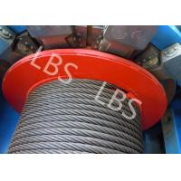 Wholesale Customized 8 Ton Load Offshore Winch 50 Meter With Lebus Grooving For Digging Well from china suppliers