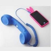 Wholesale Blue 2.5m durability Anti Radiation coco phone Retro Handsets For Iphone 4 / 4S from china suppliers