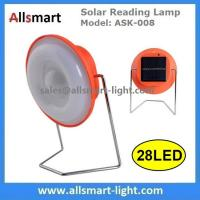 Wholesale 28LED Portable Solar Reading Desk Lamp Solar Camping Light LED Emergency Lantern Travel Tent Lighting Indoor Solar Light from china suppliers