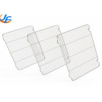 Wholesale Stainless Steel Wire Mesh Rack , Cooking Roasting Cooling Wire Mesh Sheet from china suppliers