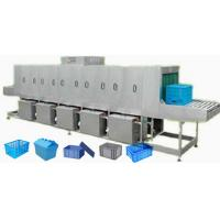 Wholesale Steam / Electricity Heating Turnover Crate Washer For Food Industry from china suppliers