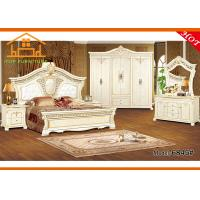 Quality american style antique french provincial ready to assemble platform bedroom furniture queen bed sets on sale for sale