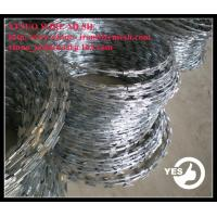 Wholesale Razor Barbed Wire Mesh Galvanized BTO12 from china suppliers