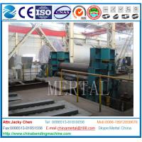 Wholesale High quality China Supplier 3 rollers hydraulic plate bending machine 25*3100mm from china suppliers