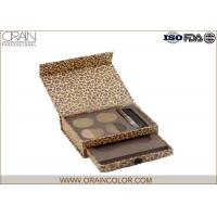 Wholesale Professional Eyebrow Makeup Kit , Eyebrow Powder Makeup Leopard Print Case from china suppliers