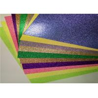Wholesale Luxury Gift Wrapping 12x12 Glitter Paper , Colored Glitter Foam Paper from china suppliers