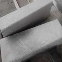 Wholesale China Granite Side Stone Dark Grey G654 Granite Kerbstone Curbstone Bush Hammered Finish from china suppliers