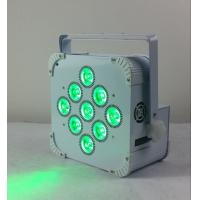 Wholesale 180W 9 LED Wireless Battery Flat Par Light , Battery Powered Led Stage Light from china suppliers