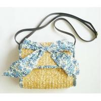 Wholesale European Beach Handbag Shoulder Bag Hot Selling straw Bag from china suppliers