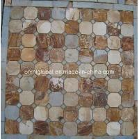 Wholesale Multicolour Slate Stone Mosaic Tile/ Culture Stone Mosaic (Hexagon Pattern) from china suppliers
