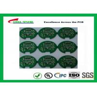 Wholesale 2 Layer Lead Free HASL Custom Printed Circuit Board PCB Material FR4 1.6MM Green Solder Mask from china suppliers