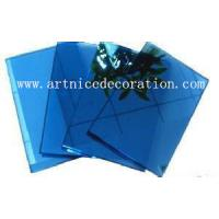 Wholesale 4mm to 8mm dark blue float glass with CE and ISO high quality , dark blue float glass from china suppliers