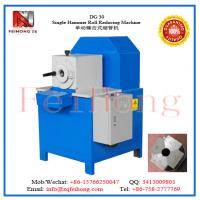 Quality S/S circle tube  DG 30 Single Hammer Roll Reducing Machine by feihong heating machinery for sale